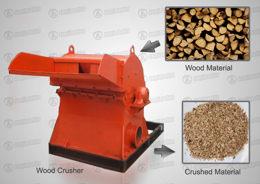 wood-crusher