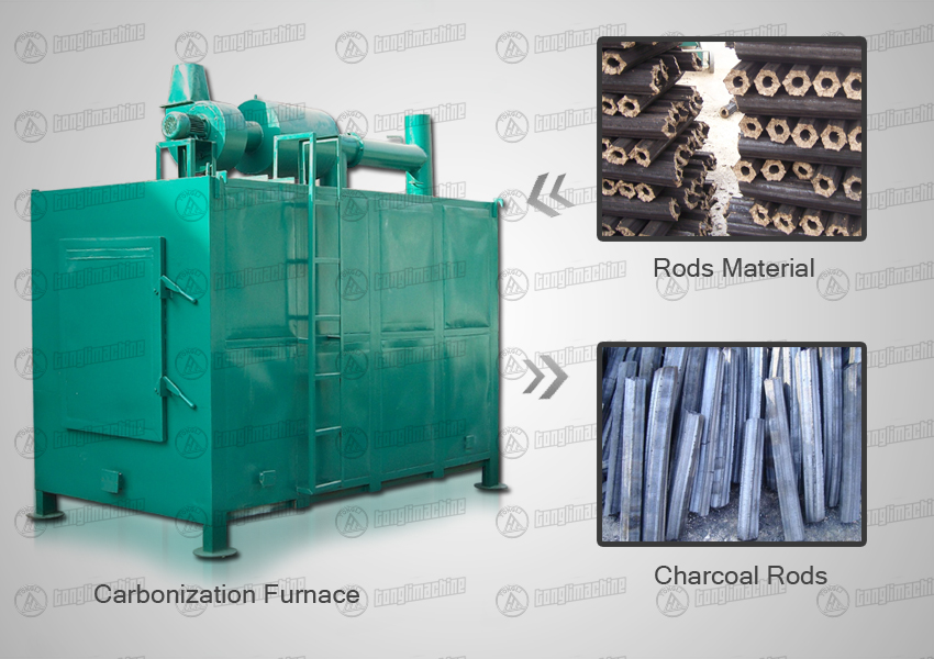 airflow-carbonization-furnace