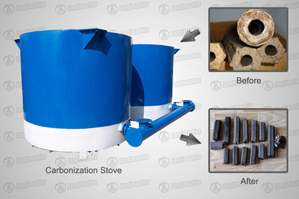Single Tank Carbonization Stove
