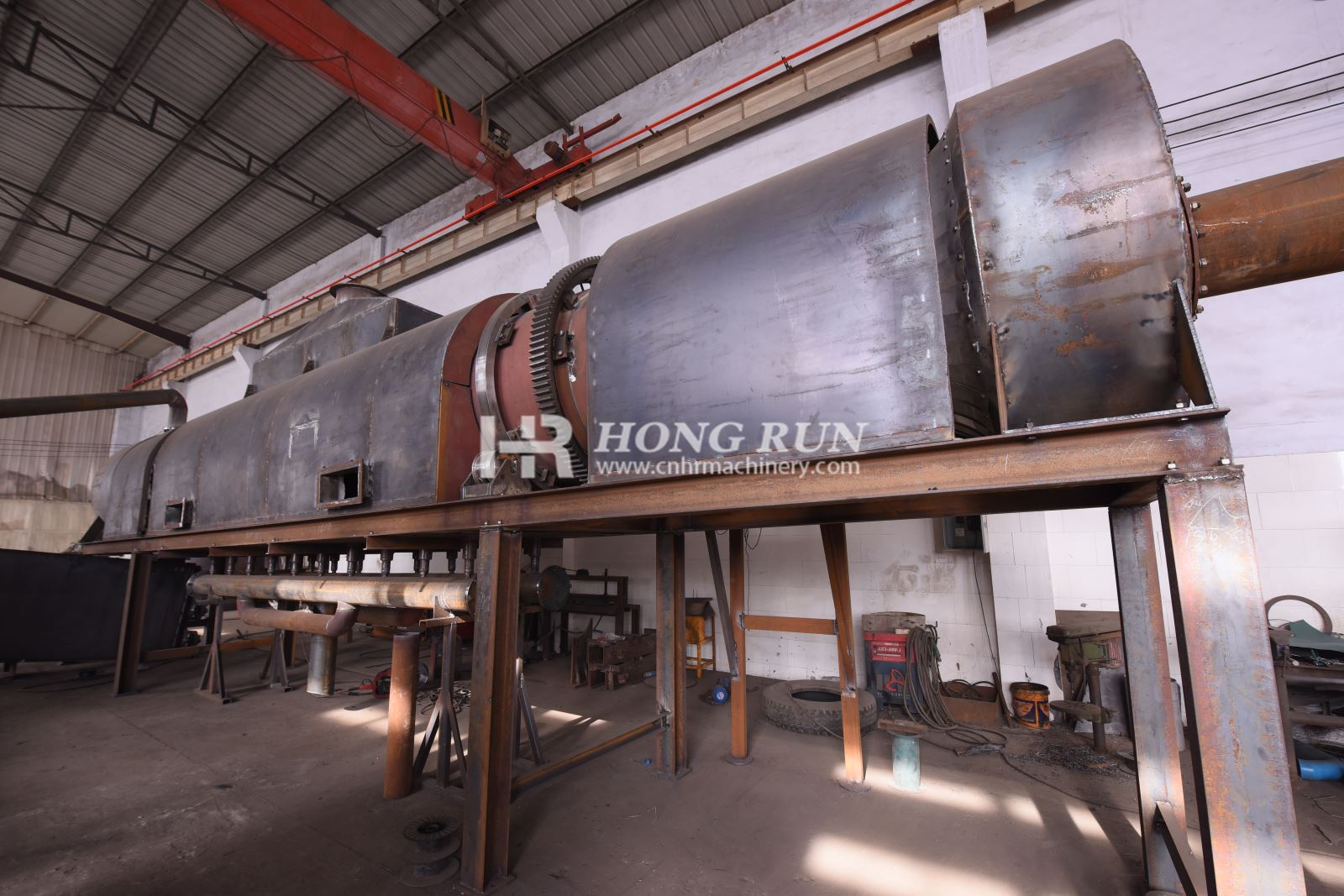 Agricultural Wastes Carbonization Furnace