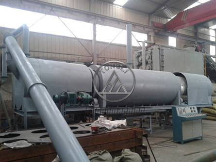 Rotary Carbonization Machine